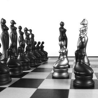 Schach-Detail
